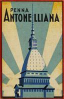 Schreibfeder-Schachtel No. 378 EF, Penna Antonelliana, Eifelturmfeder, Messing