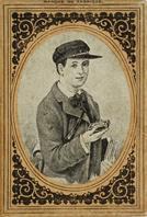 Schachtel mit Kalligraphie Bandzugfedern, A. Sommerville & Co, No. 108, Student Pen