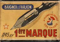 Antike Schreibfederschachtel, Baignol & Farjon, No. 1145 EF, 1ére Marque