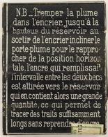 Antike Schreibfeder-Schachtel, Blanzy-Poure & Cie, No. 333-4, Fideles Achates, Rückseite