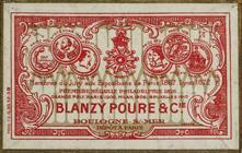 Antike Schachtel mit Kalligraphie Spitzfedern, Blanzy-Poure & Cie, No. 160, Plume Tremplin