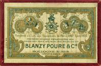 Antike Schreibfederschachtel, Gilbert & Blanzy-Poure, No. 775, L'irreprochable