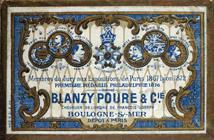 Antike Schreibfederschachtel, Blanzy Poure & Cie, No. 238, Batarde