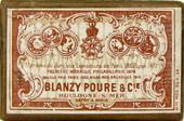 Antike Schreibfeder-Schachtel, Blanzy-Poure & Cie, Plumes pour la Ronde