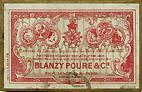Schreibfedern-Schachtel Blanzy Poure & Cie, No. 083, Plume Omicron