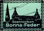 Antike Schreibfederschachtel, F. Soennecken, Bonna-Kugelfeder F