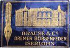 Antike Schreibfedern-Schachtel, Brause & Co, Bremer Boersenfeder