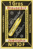 Antike Schreibfederschachtel, Brause & Co, No. 70 F, Etat Belge, Belgische Staat