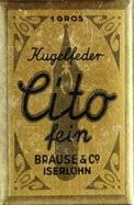 Antike Schreibfederschachtel, Brause & Co, Cito fein, Typ 1, Kalligraphie Pfannenfedern