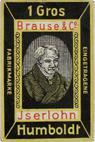 Antike Schreibfederschachtel, Brause & Co, Humboldt-Feder EF