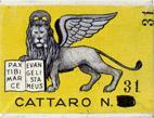 Antike Schreibfederschachtel, Cattaro No. 31 EF