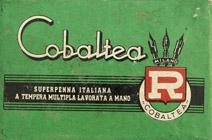 Antike Schreibfederschachtel, Cobaltea, No. 125