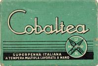 Schachtel mit Kalligraphie-Schreibfedern, Cobaltea, No. 2, Extra Fine