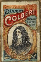 Antike Schreibfederschachtel, Compagnie Francaise, No. 200, Plume Colbert