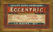 Antike Schreibfederschachtel, Ellenbogenfeder, Compagnie Francaise, Plume Eccentric EF