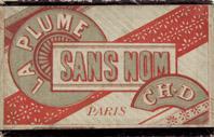 Schachtel mit Kalligraphie Spitzfedern, Sans Nom, EF