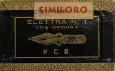 Antike Schreibfederschachtel, Elettra No. 1, Similoro