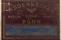 Antike Schreibfederschachtel, F. Soennecken, No. 140, Zeichen-Feder