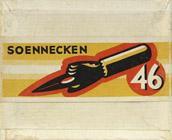 Antike Schreibfederschachtel, F. Soennecken, No. 46
