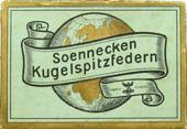 Antike Schreibfederschachtel, No. 538 EF, Soennecken
