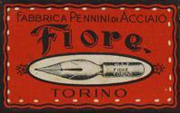 Antike Schreibfederschachtel, Fabbrica Pennini die Acciaio, No. 16 EF