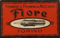 Schachtel mit Kalligraphie Spitzfedern, Fiore Nr. 24 EF