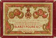 Antike Schreibfederschachtel, Gilbert & Blanzy-Poure, No. 632, L'Expeditive