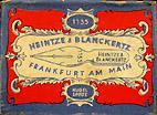 Antike Schreibfederschachtel Heintze & Blanckertz, No. 1135 EF
