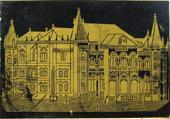 Antike Schreibfederschachtel. Heintze & Blanckertz, No. 1701