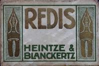 Antike Schreibfederschachtel, Heintze & Blanckertz, No. 1189 EF