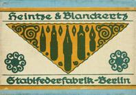 Schachtel mit Kalligraphie Spitzfedern, Heintze & Blanckertz, No. 2270 EF