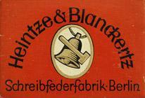 Antike Schreibfederschachtel, Heintze & Blanckertz, No. 516 EF, Nitor, Kugelspitzfeder