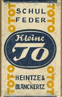 Antike Schreibfederschachtel, Heintze & Blanckertz, No. 634 1/2, Kleine To