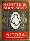 Antike Schreibfederschachtel, Heintze & Blanckertz, No. 632, X