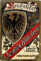 Antike Schreibfederschachtel, Heintze & Blanckertz, No. 31 M, Reichsfeder