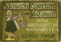 Antike Schreibfederschachtel, Joseph Egerton & Company, Conqueror Pen