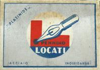 Antike Schachtel mit Kalligraphie Pfannenfedern, No. 635, Mario Locati