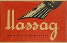 Antike Schachtel mit Kalligraphie Spitzfedern, Mathias Salcher & Söhne (Massag), No. 228, Swan Pen