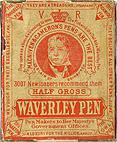 Antike Schreibfederschachtel, Mac Niven & Cameron, Waverley Pen