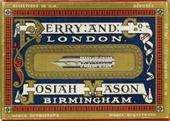 Antike Schreibfederschachtel, Perry und Co, Josiah Mason, No. 794 broad-2