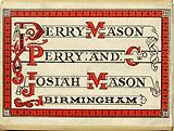 Antike Schreibfederschachtel, Perry und Co, Josiah Mason, No. 794 Ex Ex Fine