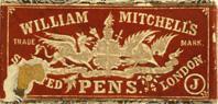 "William Mitchell, Black ""J""-Pen"